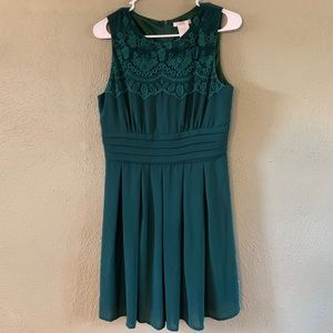 Forest Green formal dress